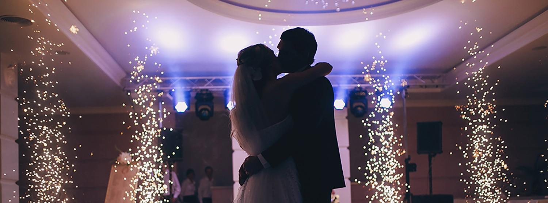 Discobar huwelijksfeest