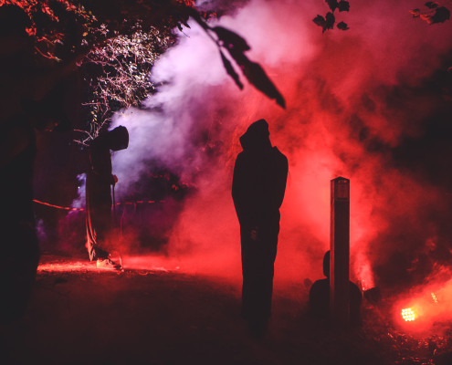 Halloween productie Kippenvel