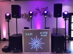 Luxe discobar
